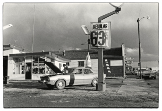 GAS STOP.  David Freund's photographic portraits of an American Cultural Nexus