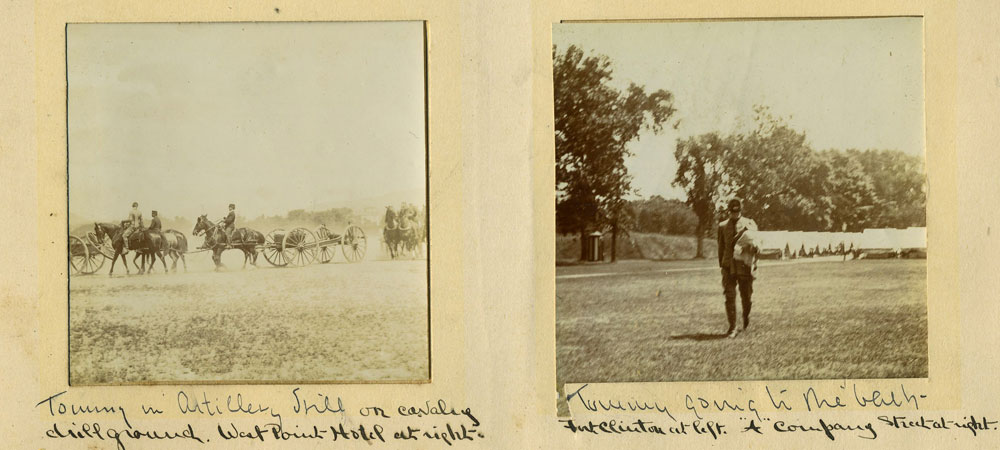 west point class of 1899 first class camp photographic album