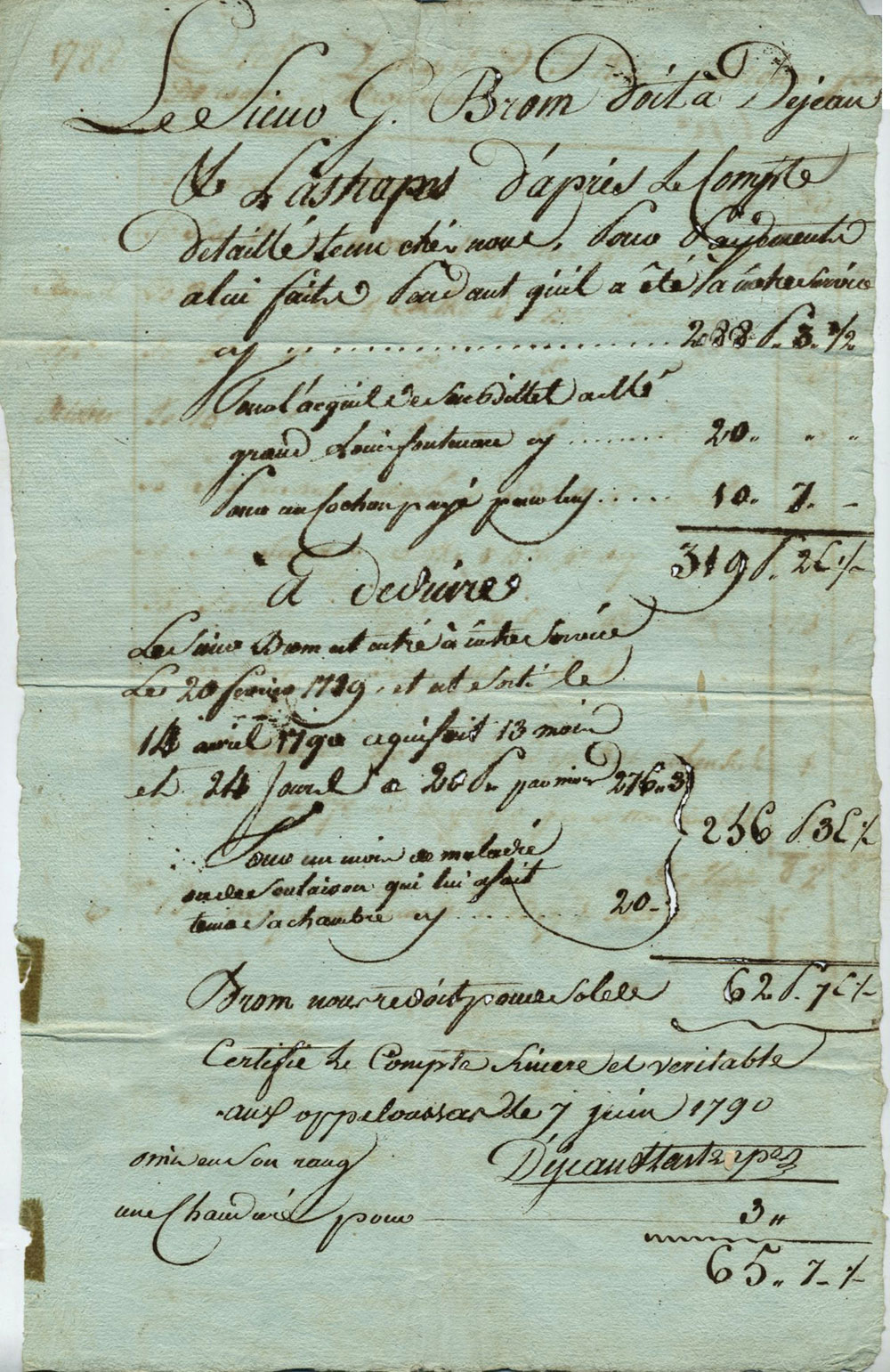 French Merchants and Slave Owners in Opelousas, Louisiana
