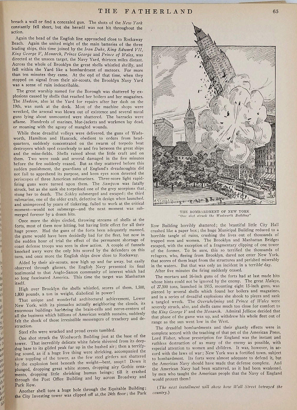 Editor's Archive Copy, Pro German WWI propaganda periodical 'The  Fatherland', the Entire Run Vols I - VI, 1914 -1917, a total of 132 issues  by