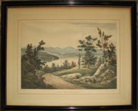 View Near Hudson. (No. 15 of the Hudson River Portfolio). W. G. Wall.