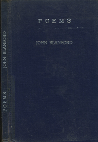 Poems. John Blanford.