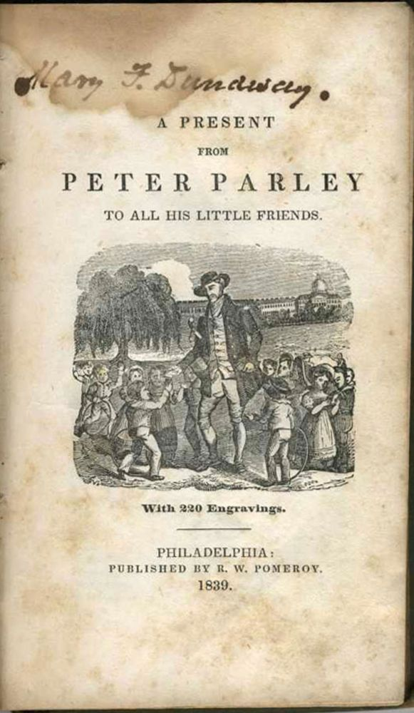 A Present from Peter Parley to All his Little Friends. With 220 Engravings. James Cook, Peter Parley, Kangaroo.