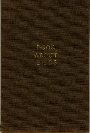 Book about Birds. Chapbook. Children's, Rufus Merrill, Co, publishers.