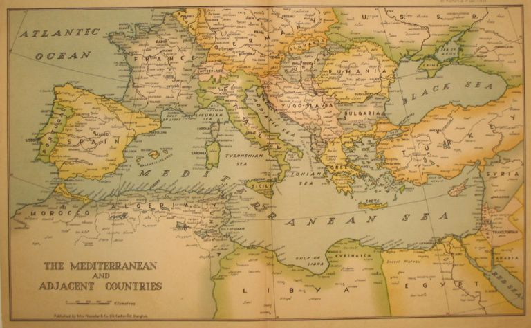 The Mediterranean and Adjacent Countries. Max Noessler, Co.