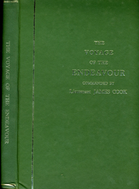 An Account of a Voyage Round the World with a Full Account of the Voyage of the Endeavour in the year MDCCLXX along the East Coast of Australia by Lieutenant James Cook. James Cook.