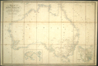 Map of Australia, Compiled from the Nautical Surveys, Made by Order of the Admiralty, And other Authentic Documents. By James Wyld. Geographer to the Queen. London. Published by James Wyld. Charing Cross East. 1844. James Wyld.