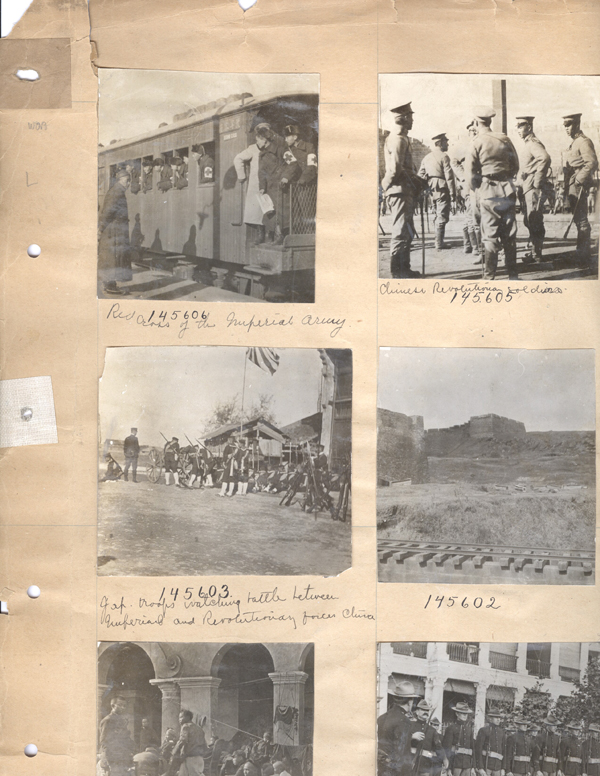 Stereoscopic Views from the Archives of Underwood & Underwood of the Chinese Revolution. Chinese Revolution.