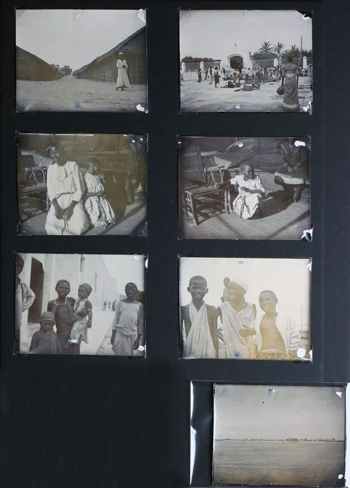 Black and white photographs of Mozambique c. 1900. Mozambique, C. E. Hogg.