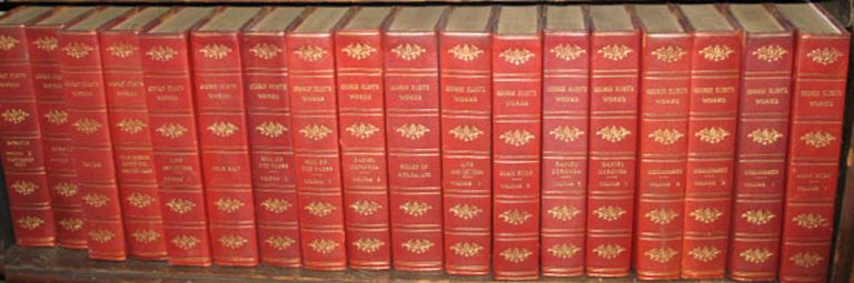 The Complete Works of George Eliot in Eighteen Volumes. The Westminster Edition. George Eliot.
