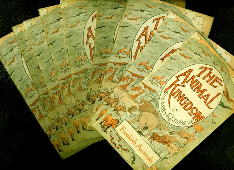 The Animal Kingdom in Pictures and Stories, 10 Volumes. Harold L. Cook.