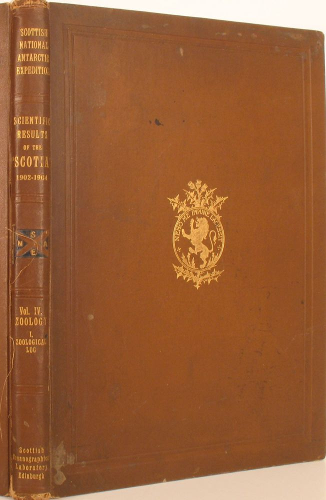Report on the Scientific Results of the Voyage of S.Y. Scotia during the Years 1902, 1903 & 1904 under the leadership of William S. Bruce. R. N. Rudmose Brown, David Wilston, J. H. Harvey Pirie.