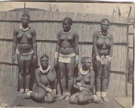 Photograph of the Wives and Daughters of a Zulu.