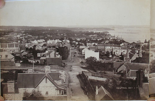 Panoramic Photograph of Sydney Harbour, from the Heads to the Parramatta. John Paine, J. P.