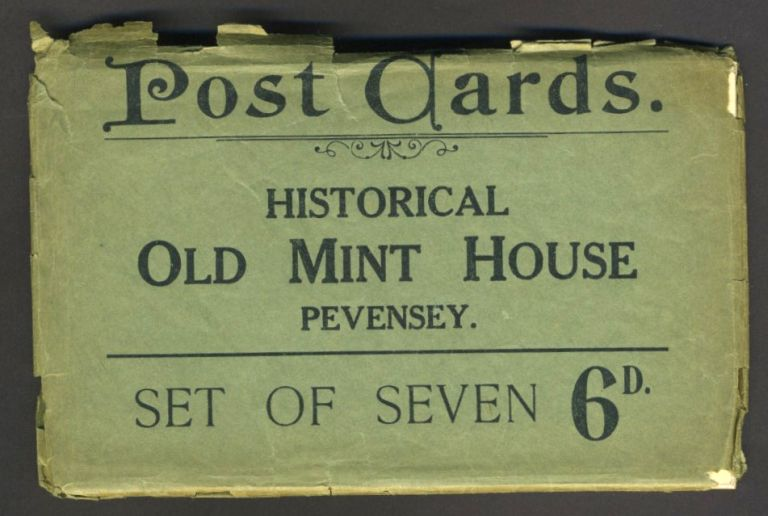 Seven Postcards showing the Historical Old Mint House at Pevensey.