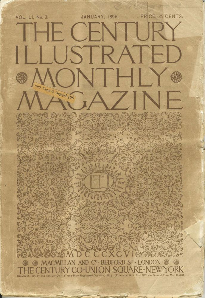 The Century Illustrated Monthly Magazine, Monthly issue for January 1896. Antarctica, A. W. Greely, C. E. Borchgrevink.