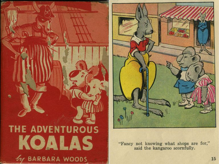The Adventurous Koalas (with color proofs of many pages). Published booklet. Childrens, Koala, Kangaroo.