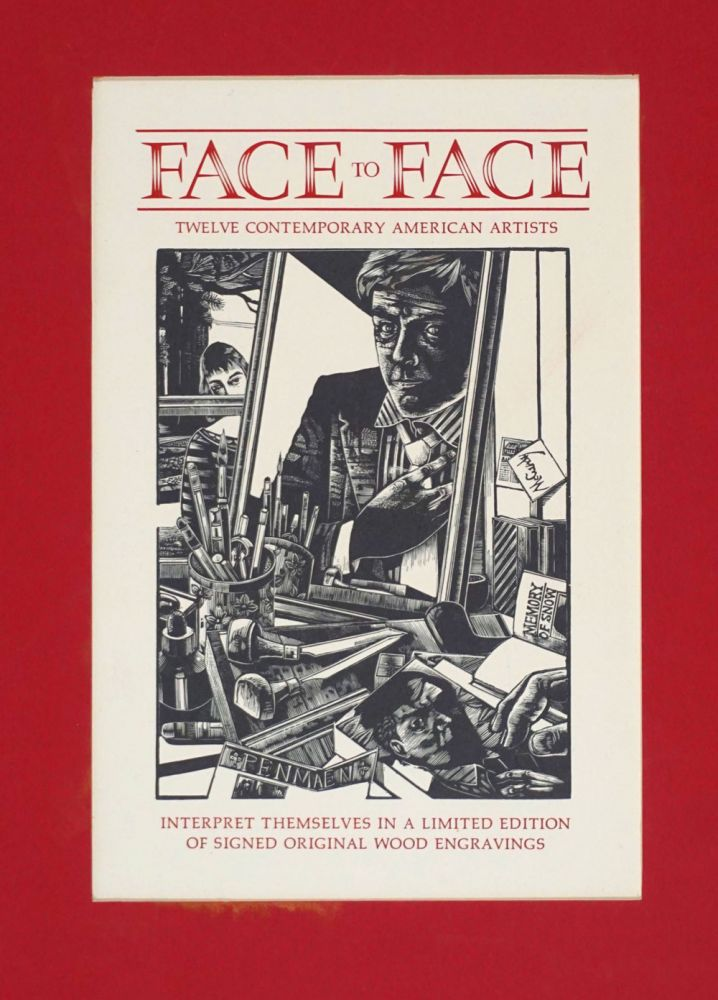Face to Face. Title page woodblock. Michael McCurdy.