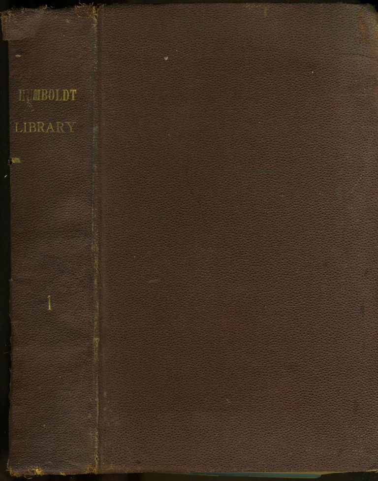 Humboldt Library of Popular Science, 8 bound issues, 1881 - 1885. Edward Clodd, George Rawlinson, Fritz Schultze.
