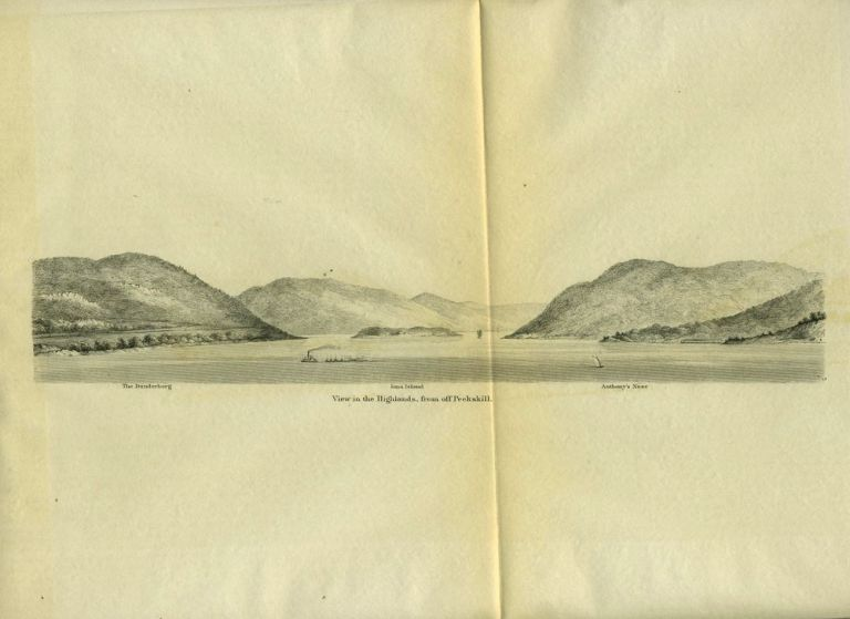View in the Highlands, from off Peekskill. HUDSON RIVER, US Coastal Survey.