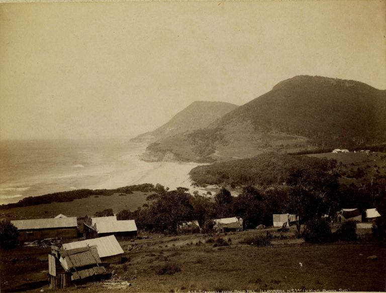Photograph of Stanwell from Bald Hill, Illawarra, NSW. Henry King.