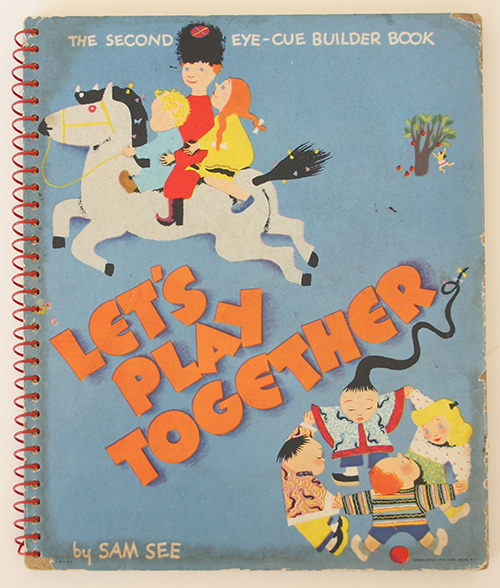 Let's Play Together. The Second Eye-Cue Builder Book. China, Childrens.