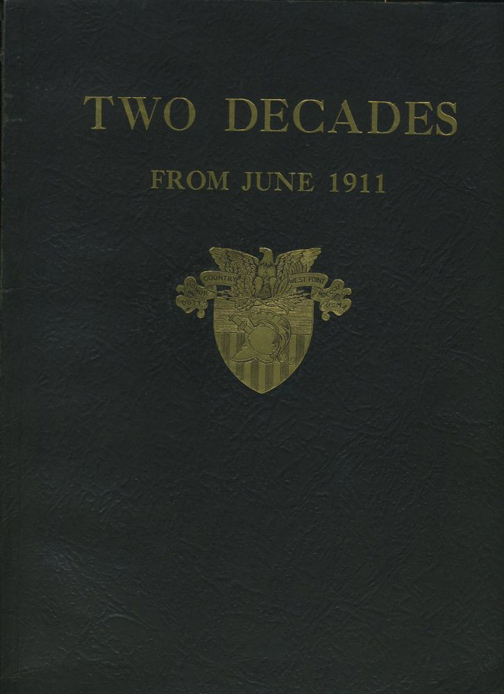 Two Decades from June 1911.