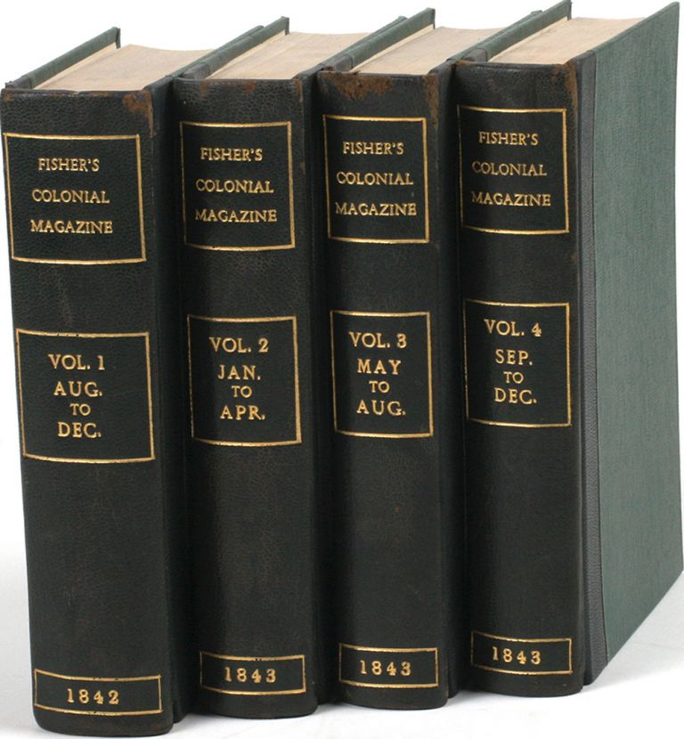 The Colonial Magazine and Commercial-Maritime Journal. Aug - Dec 1842; 1843. Robert Montgomery Martin, ed.