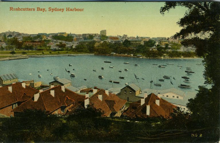 Rushcutters Bay, Sydney Harbour.