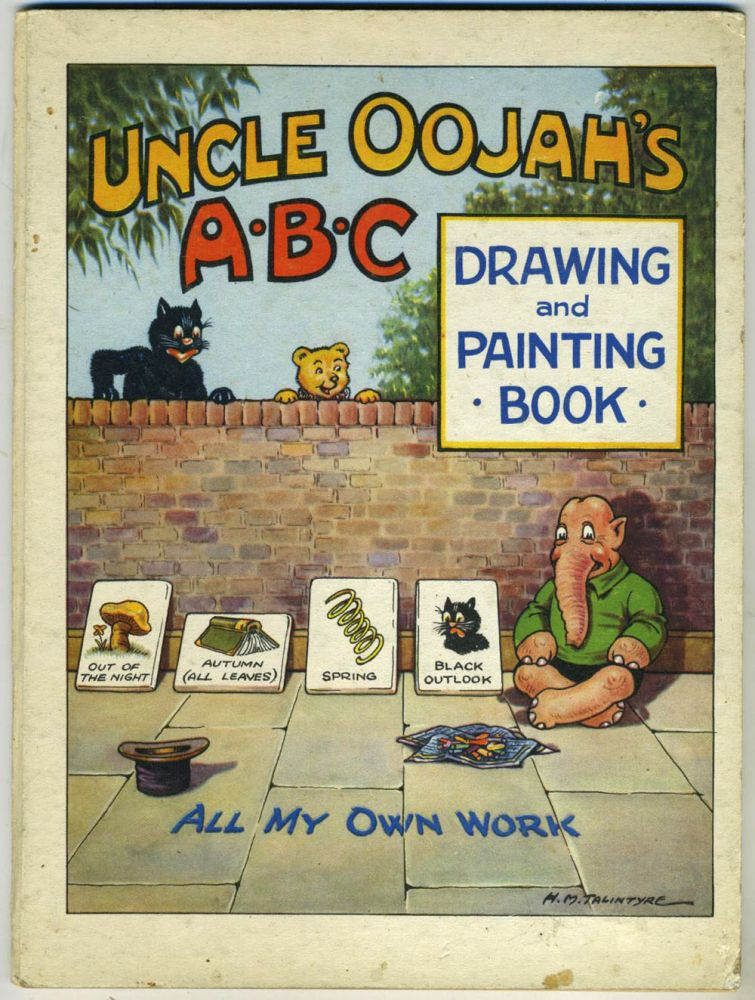 Uncle Oojah's ABC Drawing and Painting Book. Children's, Kangaroo.