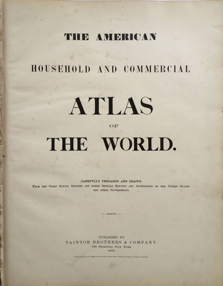 The American Household and Commercial Atlas of the World.