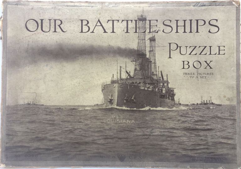 Our Battleships Puzzle Box - Three Pictures to a Set. Enrique Muller, Robert E.