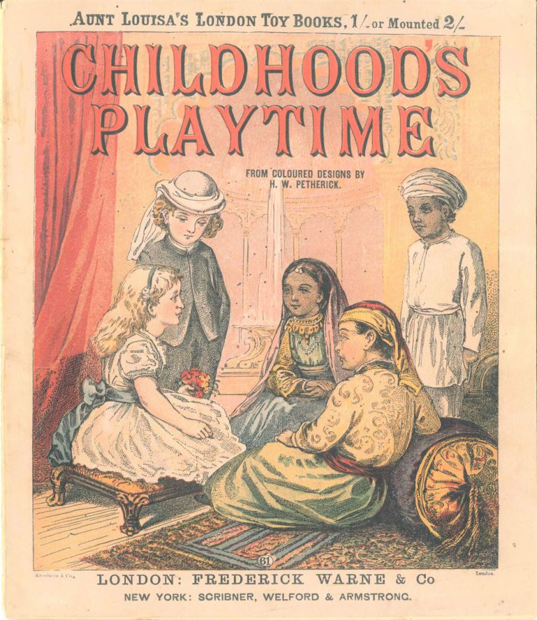 Childhood's Playtime from Coloured Designs by H. W. Petherick.