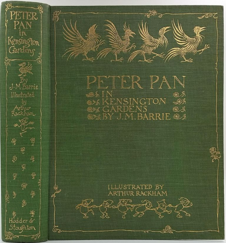 Peter Pan in Kensington Gardens. J. M. Barrie.