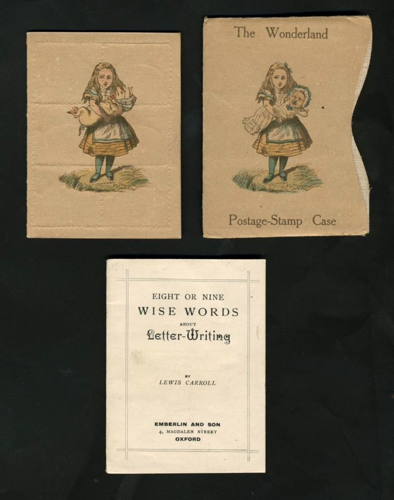 Eight or Nine Wise Words About Letter-Writing [with] Stamp Case, and Slipcase. Lewis Carroll.