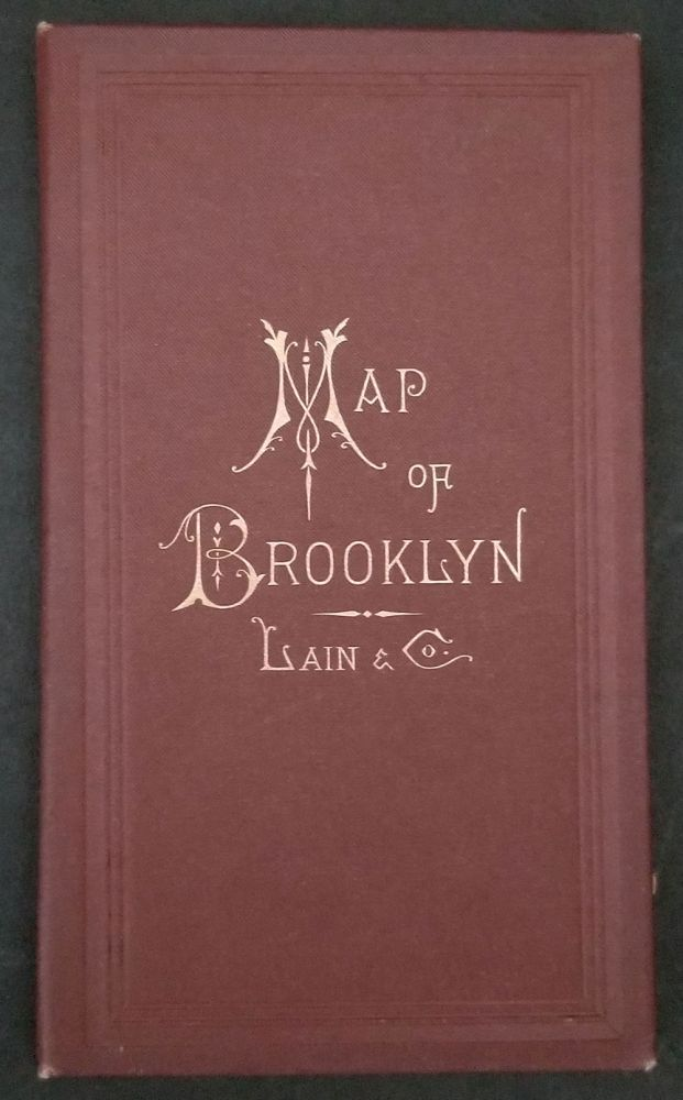 New Map of Brooklyn and Vicinity. NY Brooklyn, Lain, Co, Gaylord Watson.