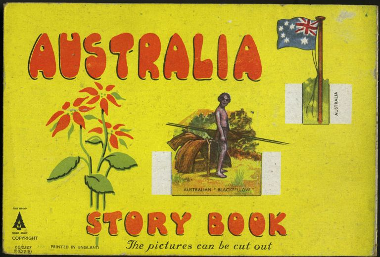 Australia Story Book. The Pictures Can Be Cut Out.