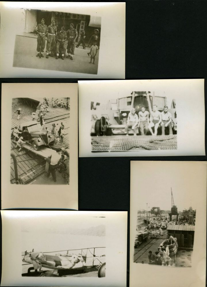 British military police, Hong Kong. 29 original snap shots.
