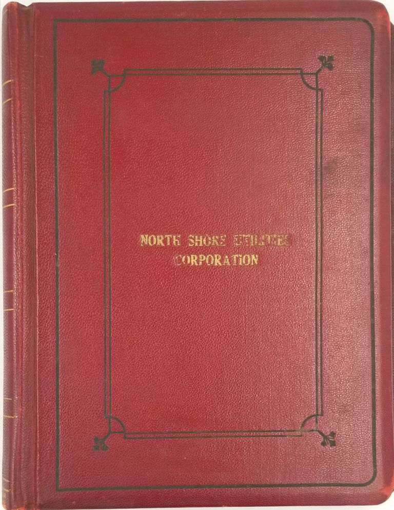 North Shore Utilities Corporation - Minutes by-Laws and Charter. Long Island.
