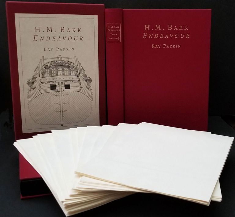 H.M. Bark Endeavour. Her Place in Australian History, With an Account of Her Construction, Crew and Equipment and a Narrative of Her Voyage on the East Coast of New Holland in the Year 1770. Ray Parkin.