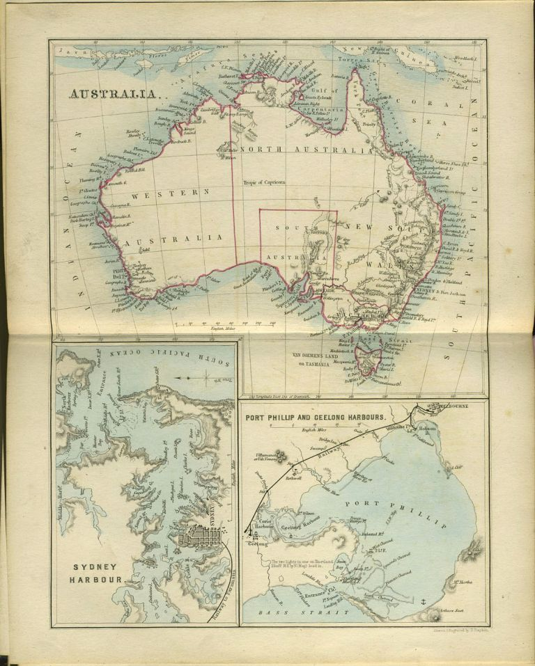 My First Voyage. A Book For Youth. Childrens, New Zealand, Australia.
