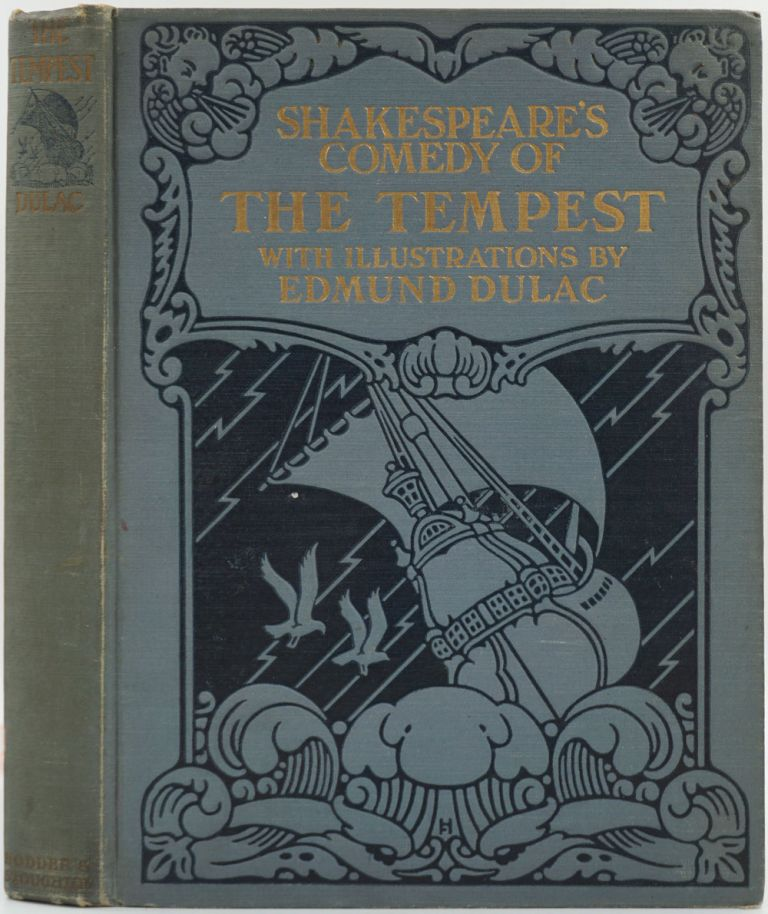 Shakespeare's Comedy of The Tempest. William Shakespeare, Edmund Dulac.