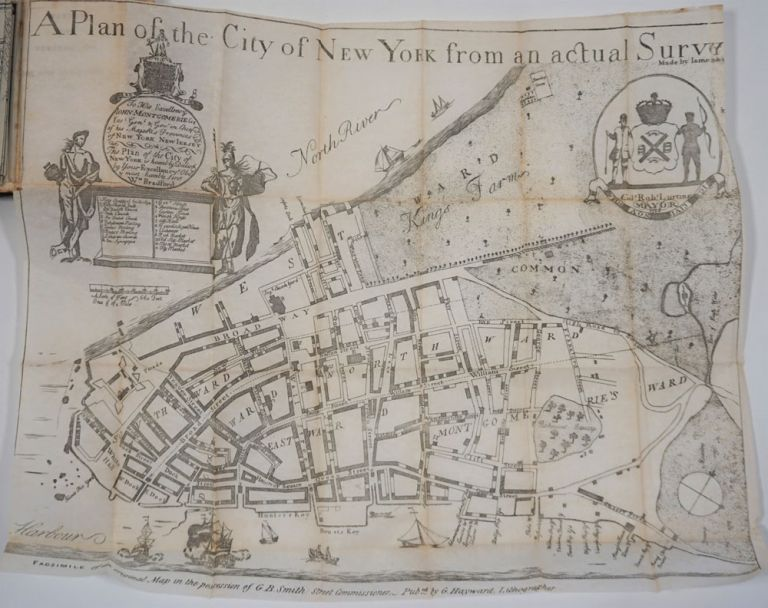 Manual of the Corporation of the City of New-York for 1844-5. D. T. Valentine.