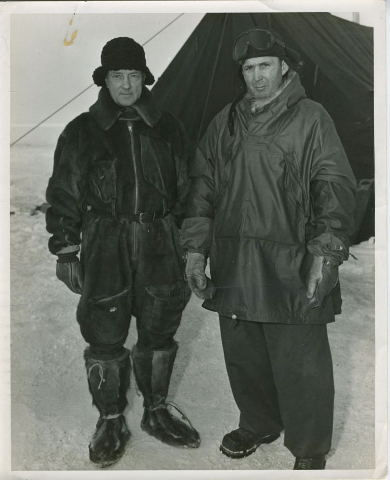 Byrd's Second Antarctic Expedition. Real photographs. Richard Byrd.