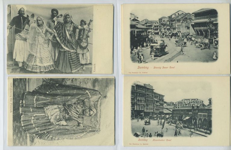 54 Postcards of India.