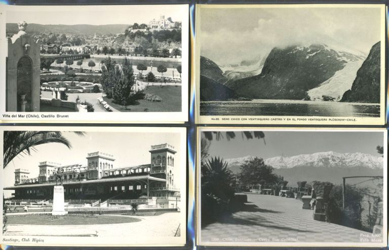 Chile, 20 real picture postcards.