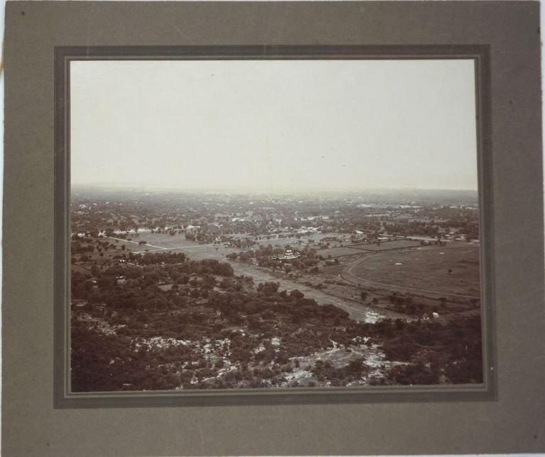 View from Mandalay Hill and Kuthodaw Pagoda, Burma. 2 Photographs of British Burma. Burma, Photographs.