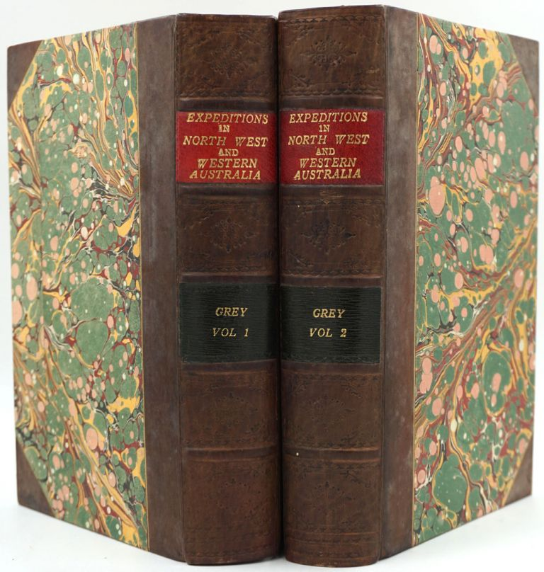 Journals of Two Expeditions of Discovery in Northwest and Western Australia during the Years 1837, 1838 and 1839. George Grey.