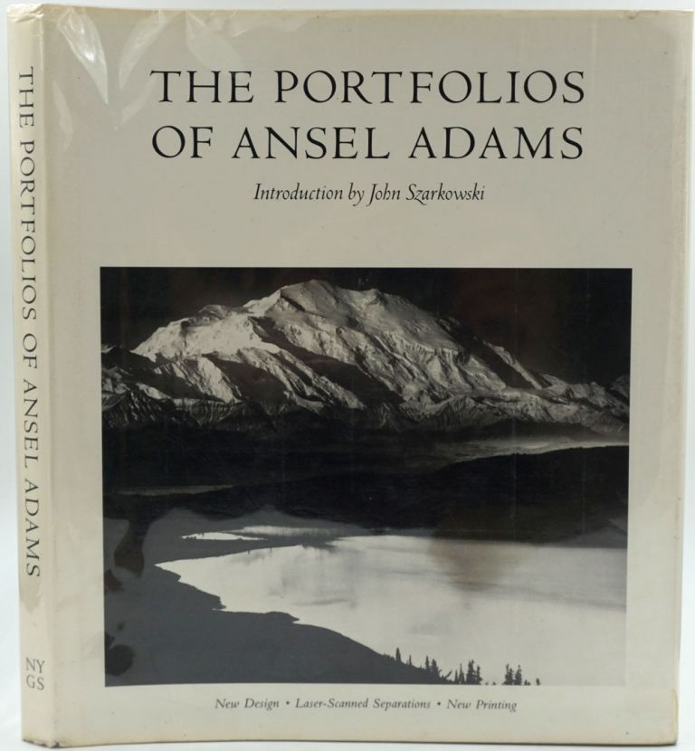 The Portfolios of Ansel Adams [with] signed and franked Ansel Adams photo postcard. Ansel Adams.
