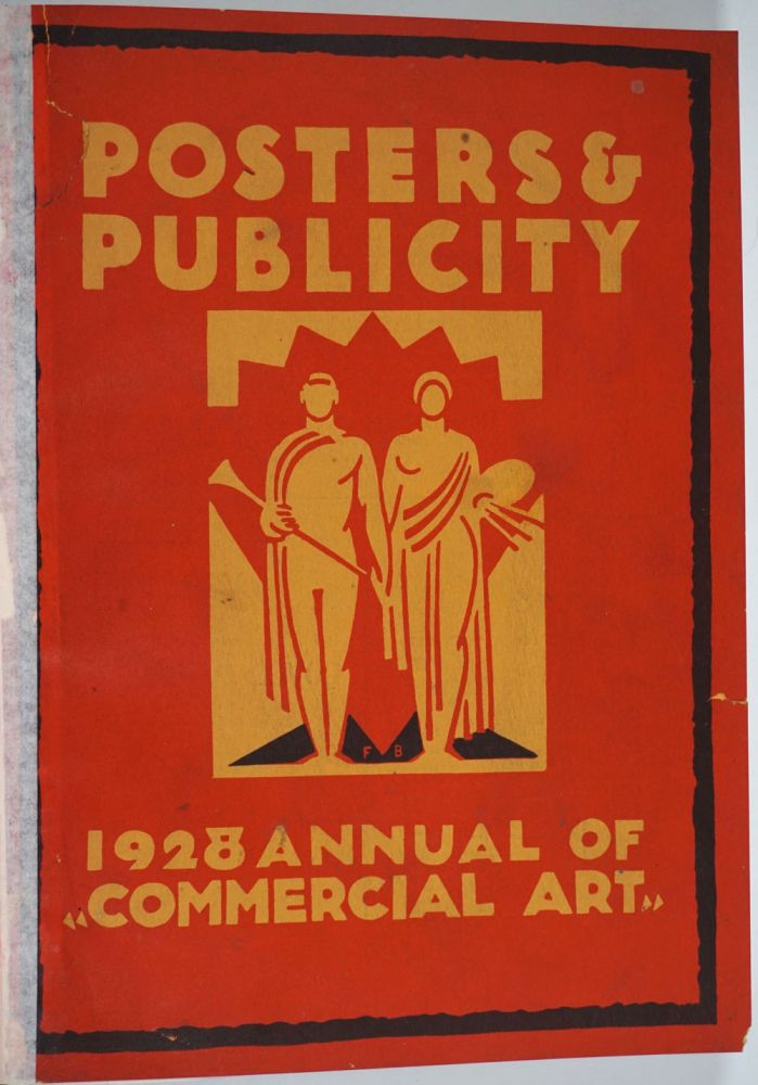Posters & Publicity, 1928 Annual of Commercial Art.